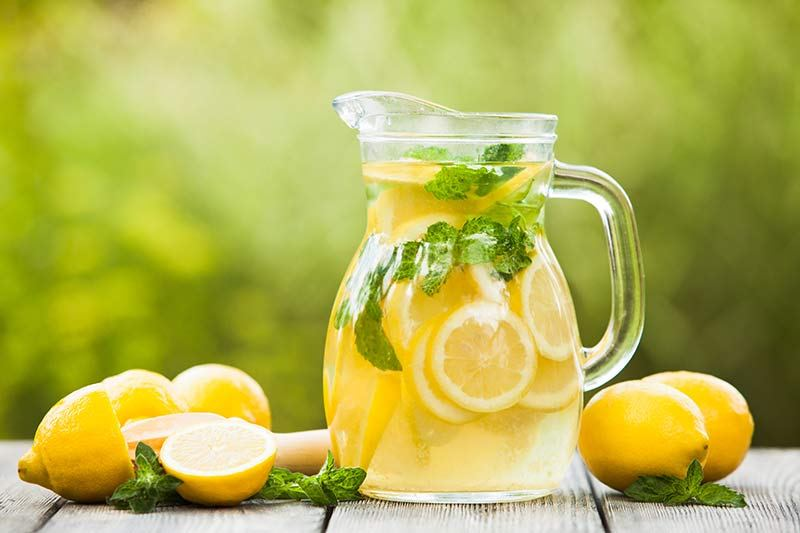 best lemon water recipe
