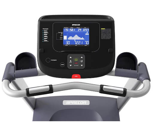 Precor TRM 211 Energy Series BestTreadmill computer feature