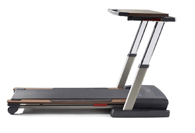 NordicTrack Treadmill Desk Platinum state
