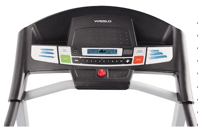 Weslo Cadence G 5.9 Treadmill computer