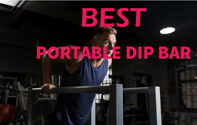 best portable dip bar
