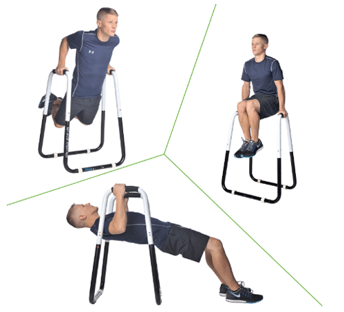Ultimate Body Press Dip Stand