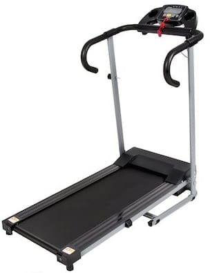 Black 500w Portable Folding Electric Motorized Best Treadmill