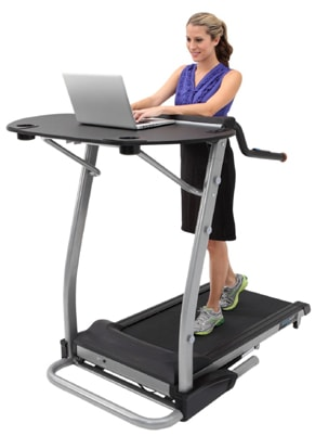 Exerpeutic 2000 Workfit Desk Station Best Treadmill
