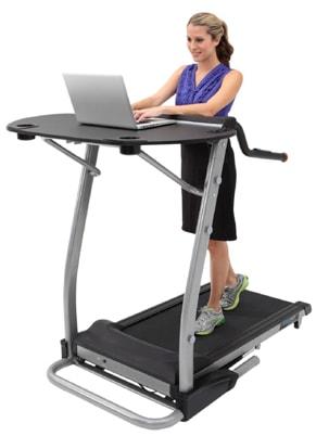 Exerpeutic 2000 Workfit Desk Station Best Treadmill