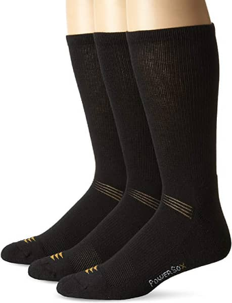 PowerSox Cushion Crew Socks with Coolmax